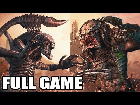 Alien Vs Predator: Evolution - Full Game Walkthrough (No Commentary)