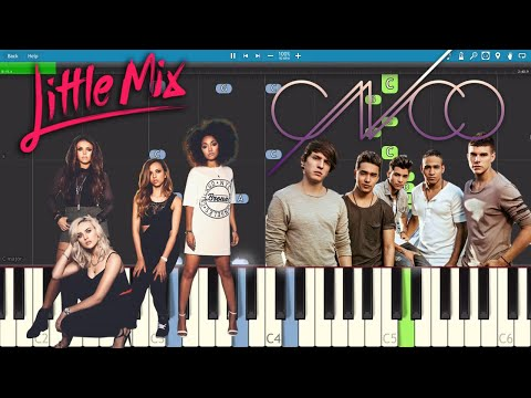 Reggaeton Lento - Piano Tutorial - CNCO & Little Mix - How To Play / Como Tocar
