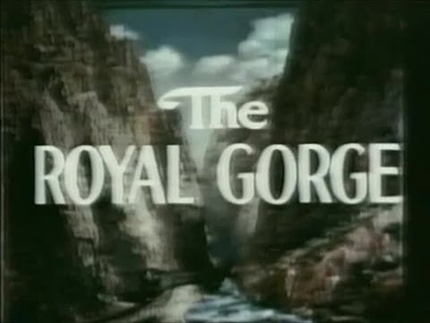 The Royal Gorge: Transcontinental Journey - 1950's Trains - CharlieDeanArchives / Archival Footage