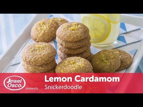Lemon Cardamom Snickerdoodle | Sweet Treats | Jewel-Osco