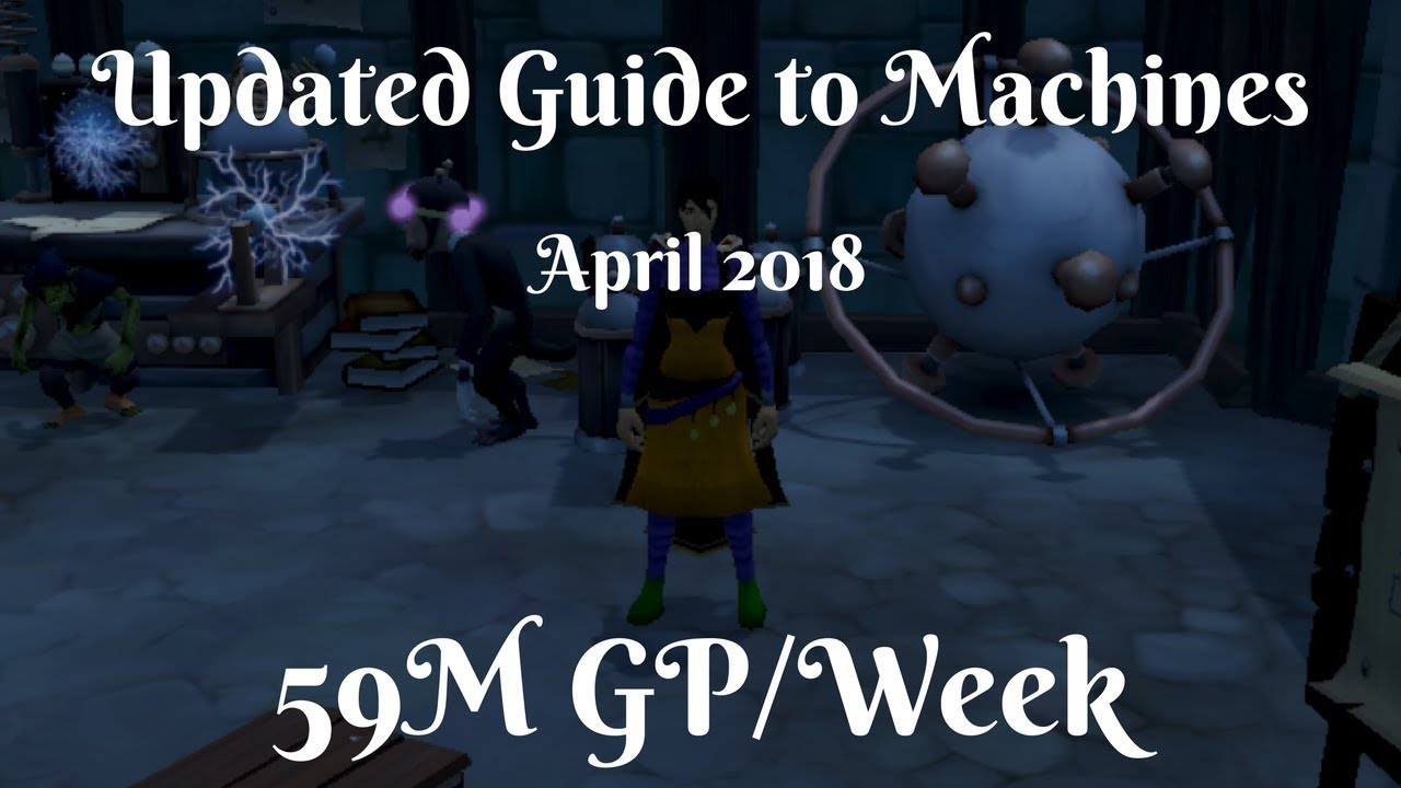 Download Updated Invention Machines Guide April 2018 - 59M GP/Week - High Level Money Making