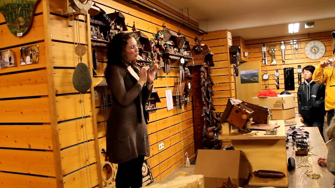 black forest cuckoo clock shop in germany samho tour april 8 youtube - Black Forest Cuckoo Clocks