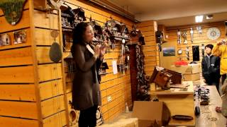 Black Forest Cuckoo clock shop in Germany (Samho Tour) April 8, 2012