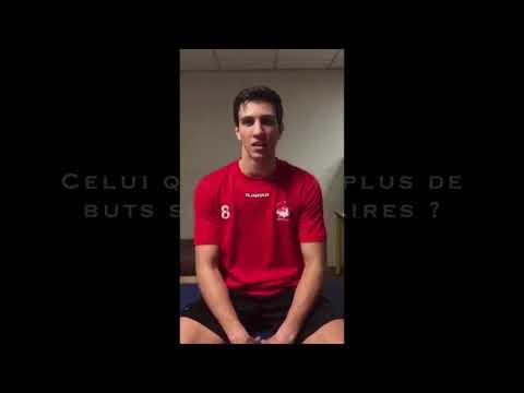 Angers Noyant Handball / Interview décalée Maël Vandelannoote