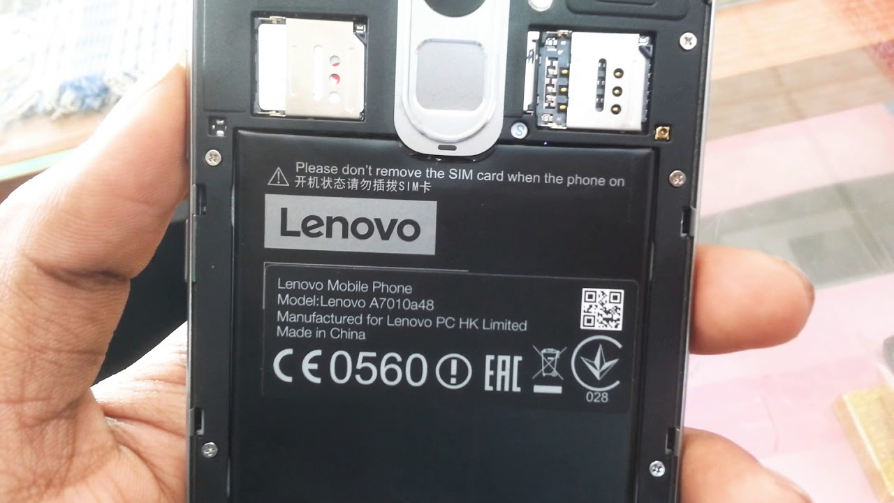 How to repair imei lenovo a7010a48 easily