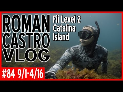 Fii Freediving Course Level 2 (Underwater Breath Hold Diving): RC Travel VLOG #84