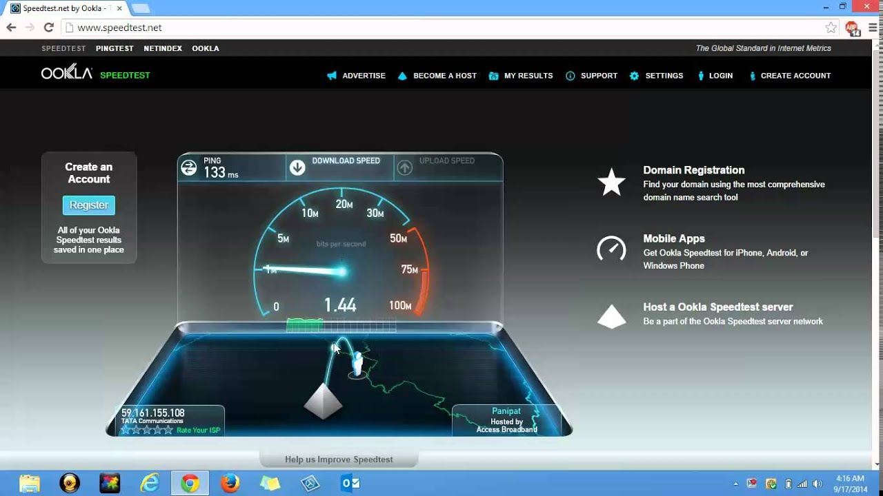 How To Check Internet Speed In Microsoft Windows  Apple's Mac Smart  Phones Tablets 