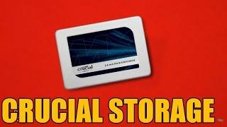Crucial MX300 2TB SSD 60 Second Break Down