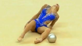 Olympic Fails (Test Event) Rio 2016 Rhythmic Gymnastics