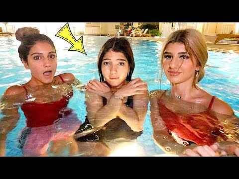 أخر شخص يخرج من المسبح يربح 100,000$ - Narins Beauty