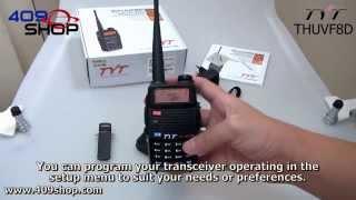 TYT THUVF8D 136-174/400-520MHz Dual Band Radio