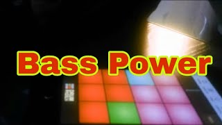 BASS POWER Drum Pads 24