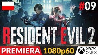Resident Evil 2 PL - Remake 2019  #9 (odc.9) Ale kanał | Gameplay po polsku