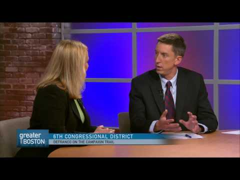 Greater Boston Video: Marisa DeFranco On Facing Tierney And Tisei In Congressional Race