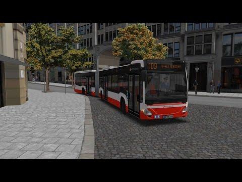 Omsi 2 Hamburg Day And Night route 109 Hauptbahnhof ZOB