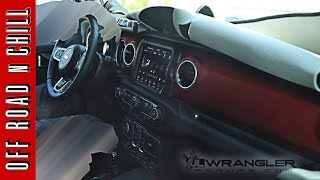 2018 Jeep Wrangler JL Interior Leaked Images / 2018 Jeep Wrangler JL