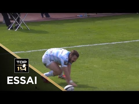 TOP 14 - Essai Marc ANDREU (R92) - Racing 92 - Oyonnax - J4