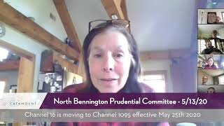 North Bennington Prudential Committee // 5-13-20