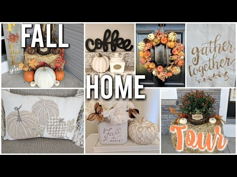 FALL HOME DECOR HOUSE TOUR  2018🍁🎃