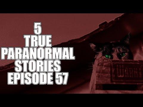 5 TRUE PARANORMAL STORIES EPISODE 67