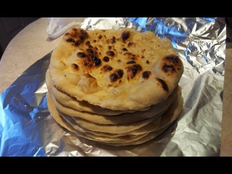 How to make Indian Takeaway Naan bread no yeast or tandoor r