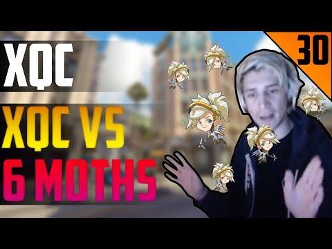 XQC vs 6 MOTHS - xQc STREAM HIGHLIGHTS #30