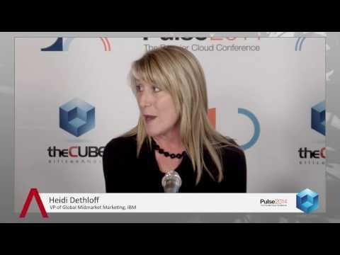 Heidi Dethloff - IBM Pulse 2014 - theCUBE
