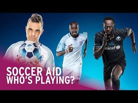 Soccer Aid 2018  Meet The Teams