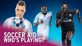 Soccer aid 2018 | meet the teams