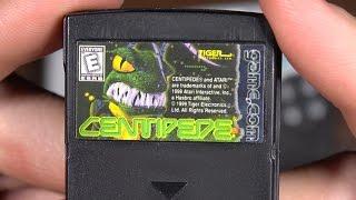 Classic Game Room - CENTIPEDE review for Game.Com