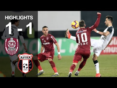 Rezumat: CFR - Astra 1-1, etapa 24, liga 1, editia 2018-2019