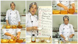 Fundamentos do Açúcar em Bolos   Gravação Live com a Chef Erika Hayashi