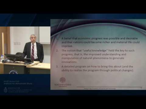 IAS Distinguished Lecture : Prof Joel Mokyr (20 May 2016)