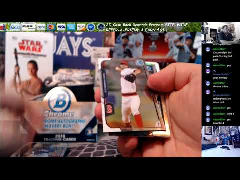 2016 Topps Chrome 2 Pack 2013 Bowman Sterling Asia 1 Pack Personal Aaron O 9 8 2017