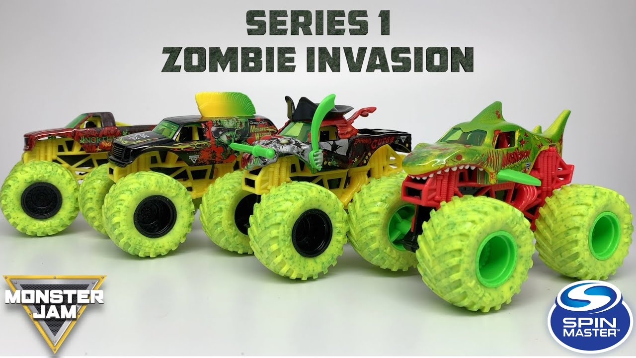 Spin Master Monster Jam Zombie Invasion Mix 01 2020 Youtube