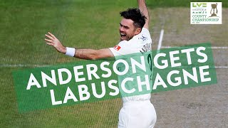 Anderson Gets Labuschagne! | Lancs v Glam Day 1 | LV= Insurance County Championship