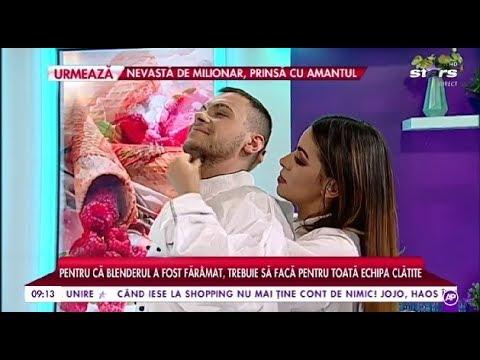 Mircea Eremia și Natalia Mateuț sunt pedepsiți! Trebuie să facă pentru toată echipa clătite!