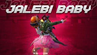 Jalebi baby Pubg mobile hot actress🤤ft. #Tjp gamer yt in Conqueror 😱Jalebi baby Pubg BGMI