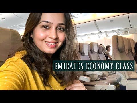 EMIRATES Economy Class Mumbai - Dubai / Dubai - Mumbai Flight Experience