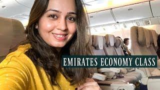 Emirates Economy Class Mumbai   Dubai / Dubai   Mumbai Flight Experience