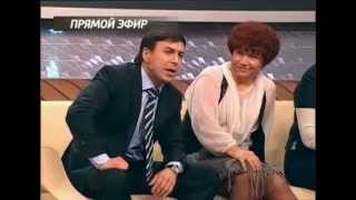 Янис Юкша на ТВ Россия 1,