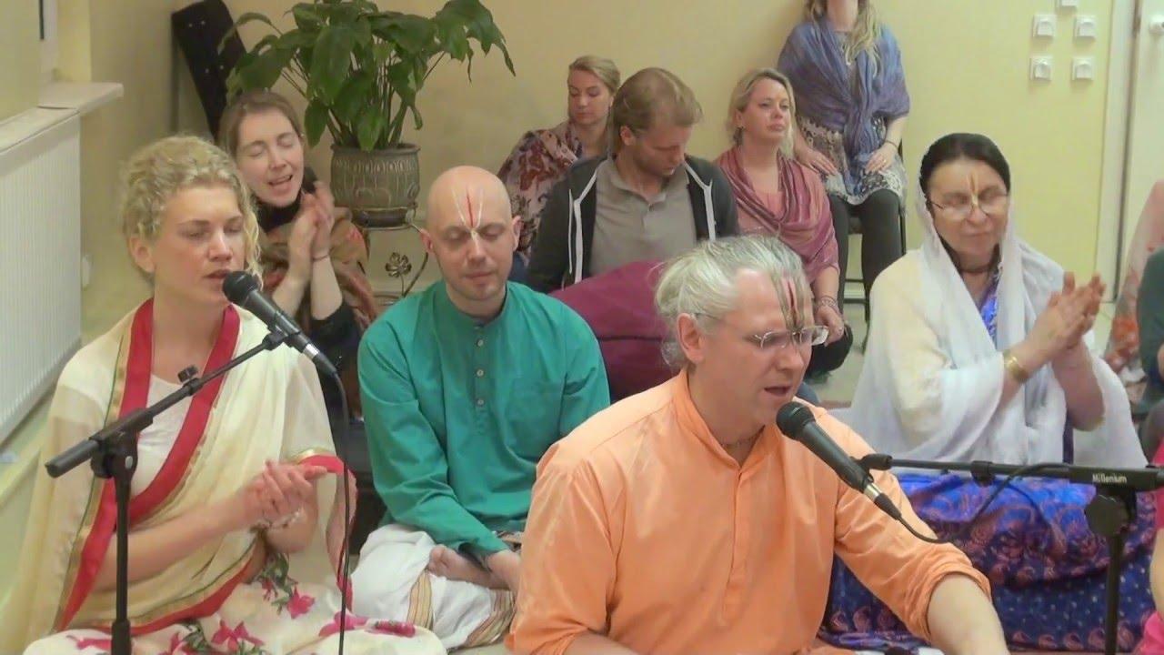 00024 RAMA NAVAMI RĀMAS TEMPLĪ RĪGĀ 15.04.2016-Рама Навами - день явления Господа Рамы