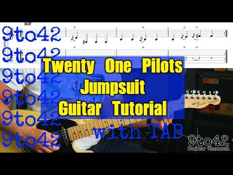 How to Play twenty one pilots: Jumpsuit Guitar Tutorial Lesson