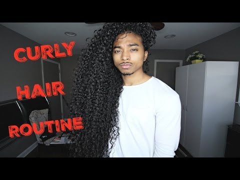 Curly Hair Routine | Men Routine