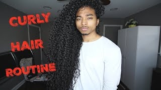 Curly Hair Routine | Men Routine