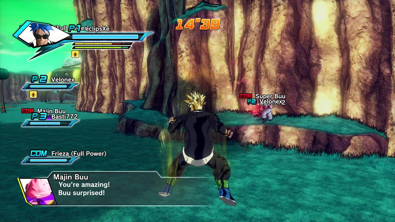 Dragon Ball Xenoverse X 100 Big Bang Kamehameha - YouTube