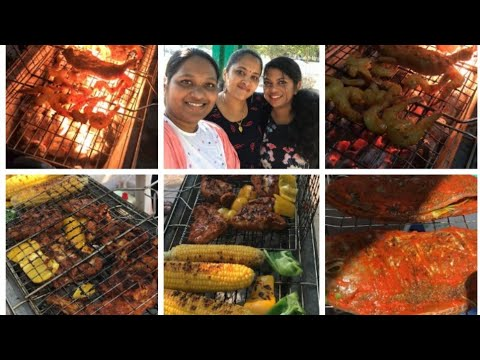 Al Mamzar Beach park | Barbecue day out with Friends