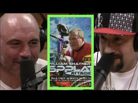 B-Real Played Paintball with William Shatner  Joe Rogan