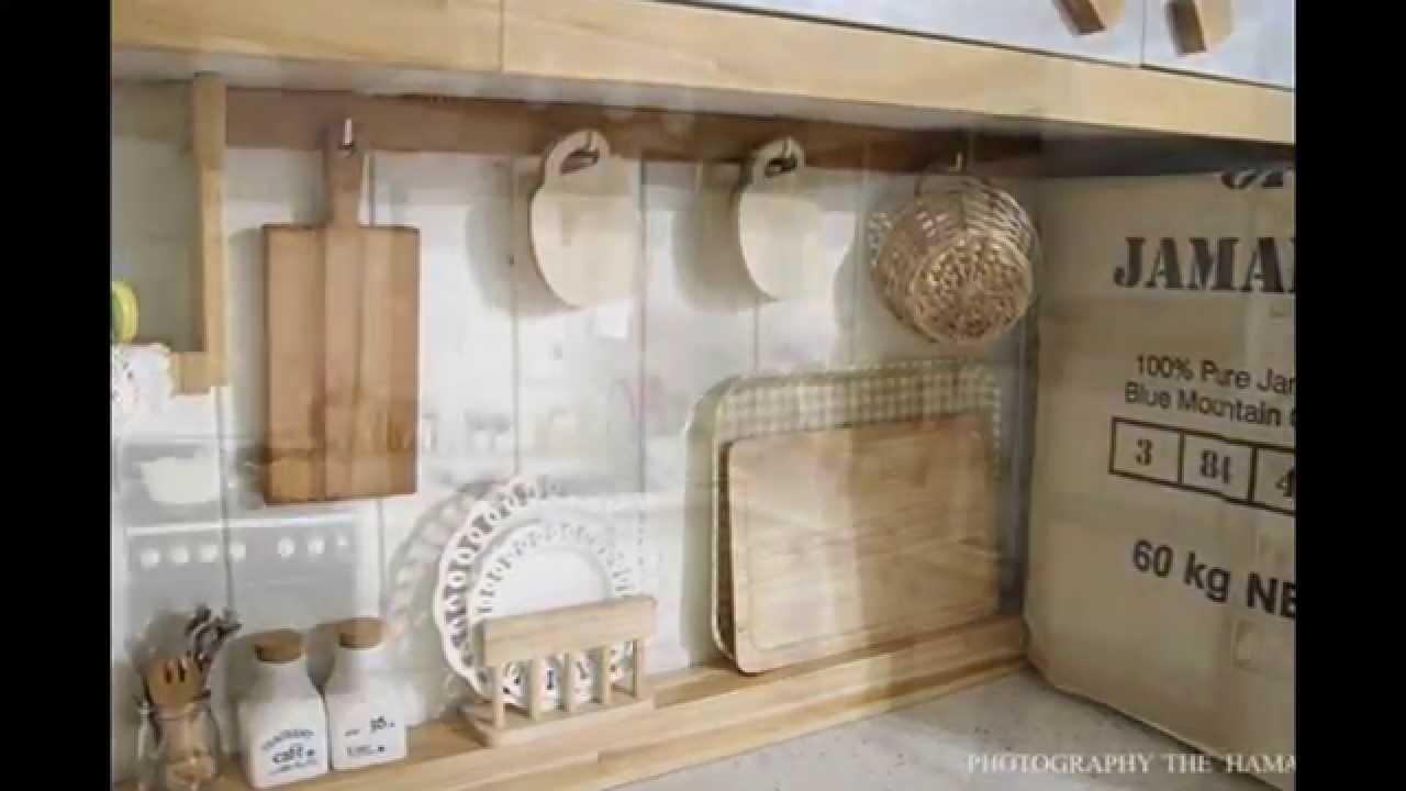 주방셀프인테리어- 나무 느낌 좋은 주방 꾸미기/원목 식기건조대 ...