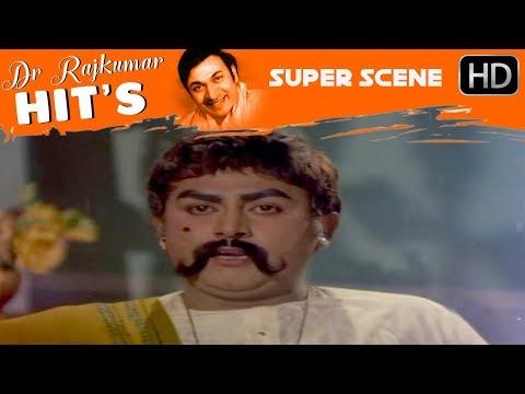 Dr.Rajkumar Movies - dr.rajkumar help his villagers kannada scenes | Sampathige Saval Kannada Movie